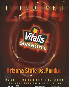 Arizona State vs. Purdue