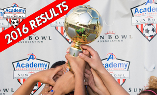 Soccer Results - 2016