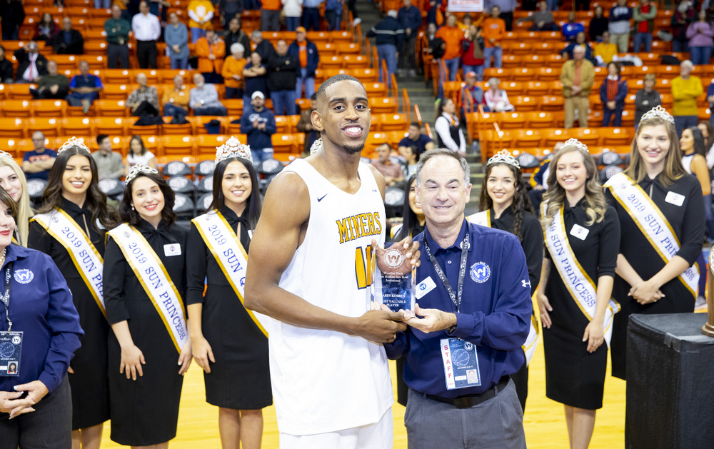 MINERS WIN CHAMPIONSHIP OF THE 58th ANNUAL WESTSTAR BANK DON HASKINS SUN BOWL INVITATIONAL