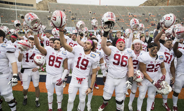 STANFORD SURVIVES THRILLING SUN BOWL OVER UNC