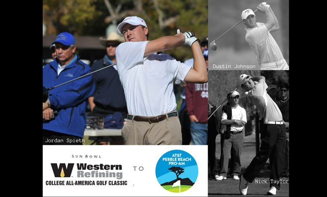 MAKING THE CONNECTION: MANY FORMER COLLEGE ALL-AMERICA PARTICIPANTS DO WELL AT PEBBLE BEACH WITH SPIETH LEADING THE WAY