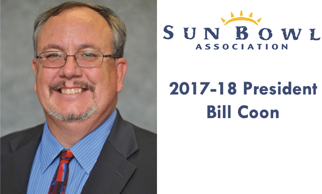 SUN BOWL ASSOCIATION ANNOUNCES BILL COON AS 2017-18 BOARD PRESIDENT