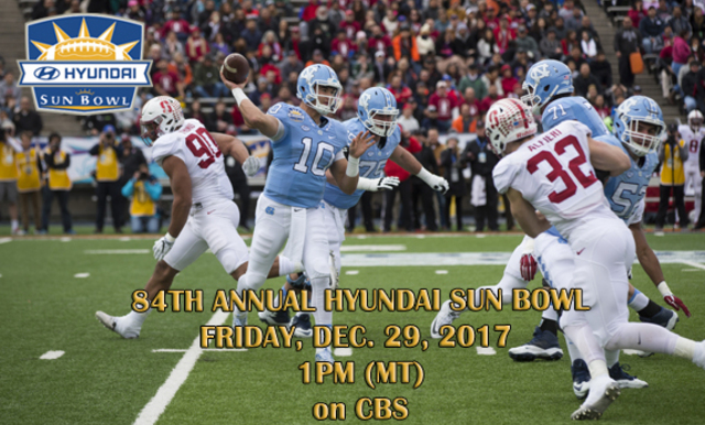 SUN BOWL ASSOCIATION CONFIRMS DATE AND TIME FOR 84TH ANNUAL HYUNDAI SUN BOWL