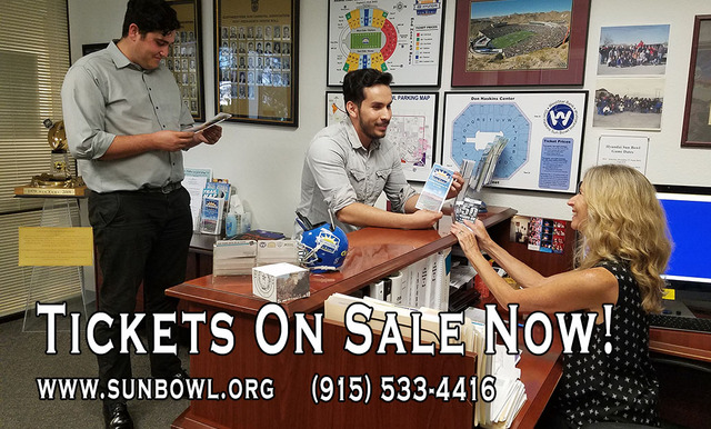 Tickets on Sale for the 84th Annual Hyundai Sun Bowl