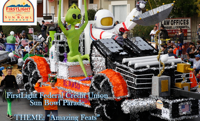 Theme Announced for 2018 FirstLight Federal Credit Union Sun Bowl Parade