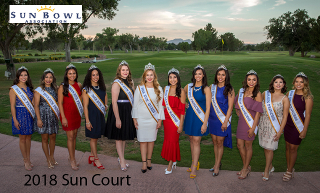 Sun Bowl Association Announces 2018 Sun Court