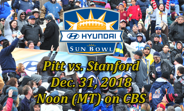 ACC COASTAL DIVISION CHAMPION, PITTSBURGH SET TO TAKE ON STANFORD IN 85TH ANNUAL HYUNDAI SUN BOWL