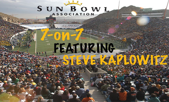 7-ON-7 OF COLLEGE FOOTBALL AND THE SUN BOWL VIDEO SERIES (PART THREE)