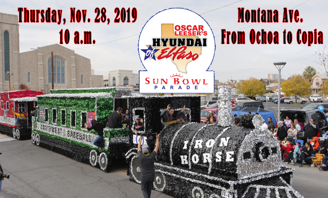 OSCAR LEESER'S HYUNDAI OF EL PASO SUN BOWL PARADE PREPARATION