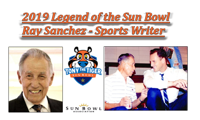 LOCAL EL PASOAN NAMED 2019 SUN BOWL LEGEND
