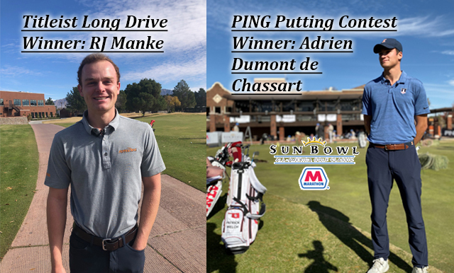 2019 SUN BOWL MARATHON ALL-AMERICA GOLF CLASSIC OPENS WITH THE TITLEIST LONG DRIVE AND PING PUTTING CONTESTS
