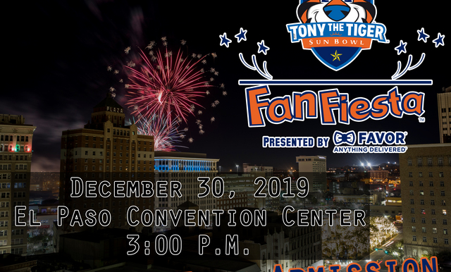 22ND ANNUAL TONY THE TIGER SUN BOWL FAN FIESTA PRESENTED BY FAVOR