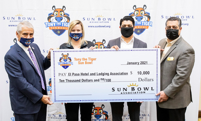 SUN BOWL ASSOCIATION CONTINUES TO HELP COMMUNITY