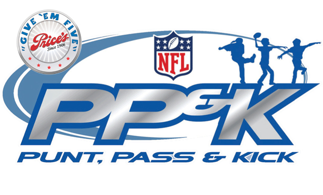 Price's Creameries Give 'Em Five NFL Punt, Pass and Kick Competition Results