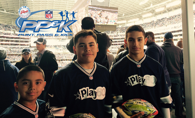 Three El Paso NFL Punt, Pass & Kick Participants Win at Team Championships