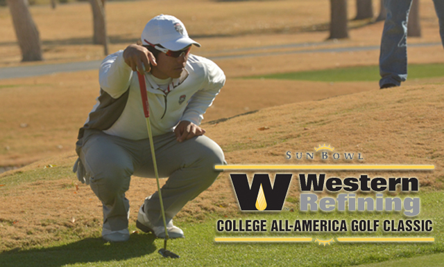 Field Set for Sun Bowl Western Refining College All-America Golf Classic