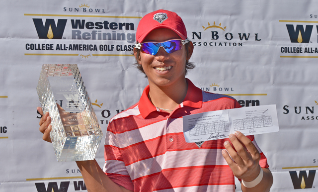 UNM's Green Rewrites History at 40th Sun Bowl Western Refining College All-America Golf Classic