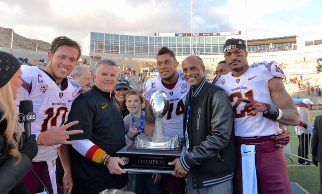 Arizona State Edges Duke, 36-31, at the 81st Hyundai Sun Bowl