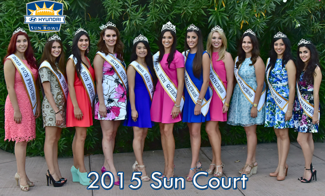 Sun Bowl Association Announces 2015 Sun Court