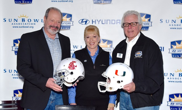 Miami to Take on Washington State in 82nd Annual Hyundai Sun Bowl