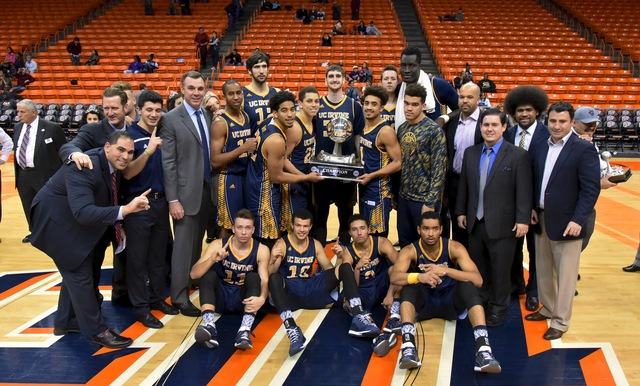 UC Irvine Takes Home 2015 WestStar Bank Don Haskins Sun Bowl Invitational Title