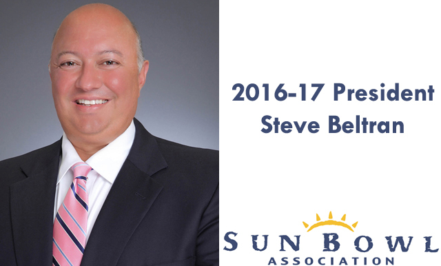 Sun Bowl Association Elects Steve Beltran as 2016-17 Board President
