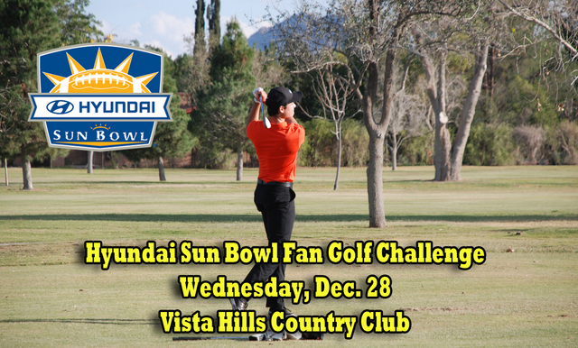 SIGN UP FOR THE 2016 HYUNDAI SUN BOWL FAN GOLF CHALLENGE
